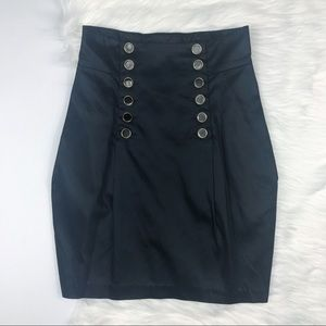 French Connection High Waisted Sailor Skirt